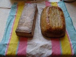 Chleb odłożony do ostygnięcia